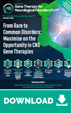 Gene Therapy for Neurological Disorders Europe Event Guide Widget (1)